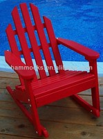 Prairie Leisure Kiddie Adirondack Rocking Chair - Fire Engine Red