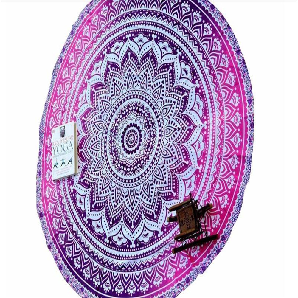 new looking hot sale style turkish round beach towel