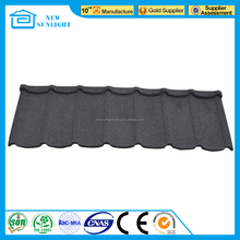 New building construction material stone coated metal roofing tile