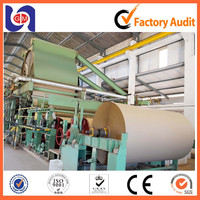 Kraft paper jumbo roll making machine, kraft liner paper machine, fluting paper machine with Low Price and Best Quality.