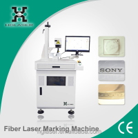 10watts 20watts CE ISO standard air cooling fiber laser marking system for phone case