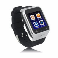 "ZGPAX S8 3G Smartphone Smart Watch MTK6752 1.2GHz Dual Core 1.54"" HD Android 4.4 512M+4GB 2MP GPS WiFi Bluetooth FM Mobile Phone"