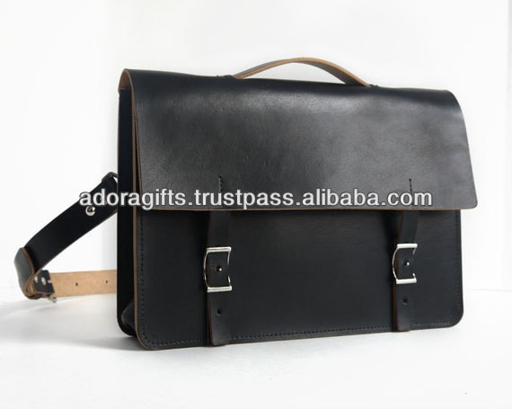 fashionable laptop hard case bag / professional computer laptop bags / 15 inch business laptop leather bags