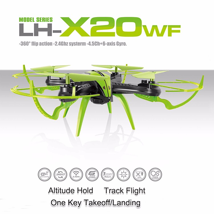 novelty items auto hover smartphone control 2.4G FPV wifi quadcopter with camera