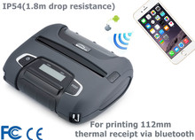 Mobile android IOS bluetooth mini barcode pos printer WSP-I450 for Ipad