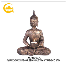 High Quality Custom Resin Golden Decor For Sale Buddha Statue