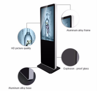 Floor standing LCD Advertising monitor electronic advertising display digital player for shopping