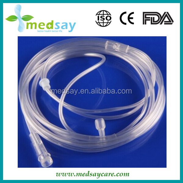 single cavity medical disposable nasal oxygen cannula