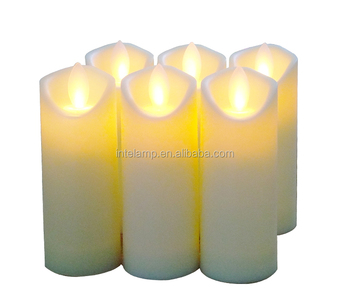 New Design simulation flame Electronic candle led candle light factory for party and wedding