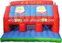 2014 large Fire Engine inflatable bouncy house