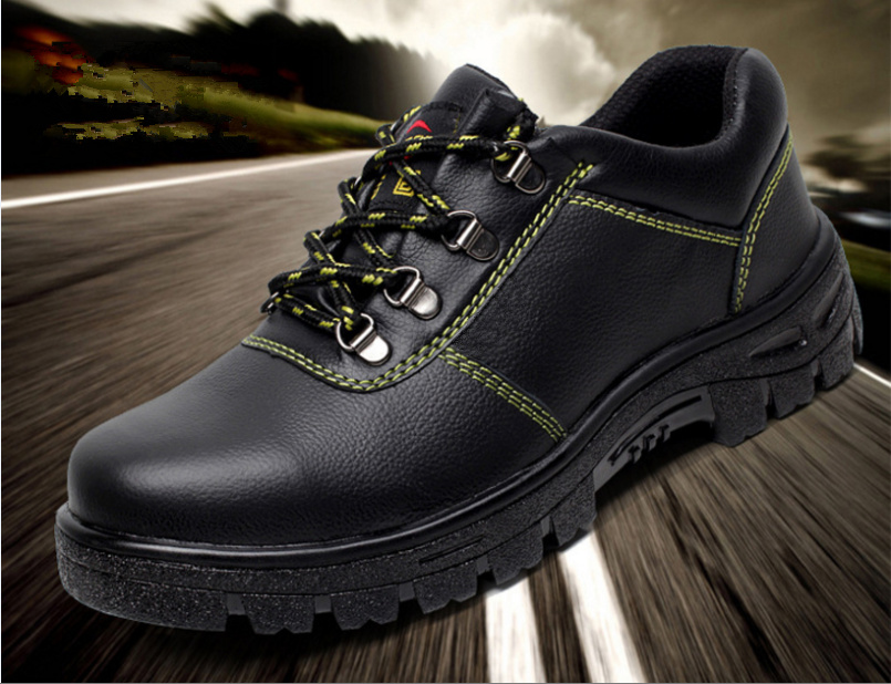 Hot Sale Workear Anti Static Safety Shoes Steel Toe Security Guard Shoes for Men