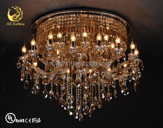 Maria theresa golden modern crystal lighting decoration