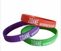 Customized silicone rubber band bracelet made in china