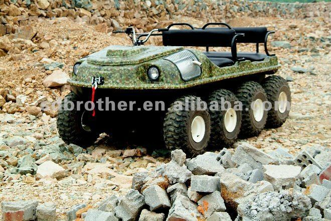 8x8 Amphibious peace sports atv