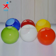 COLORED GLASS BALL LAMP SHADES
