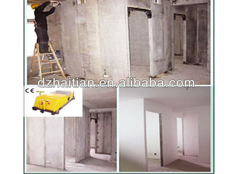 Top class hollow core panel for wall system prefab house & villa interior wall panel making machine