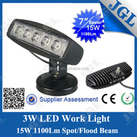China 15W/18W led worklight 4x4 tractor led light for atv utv light bar