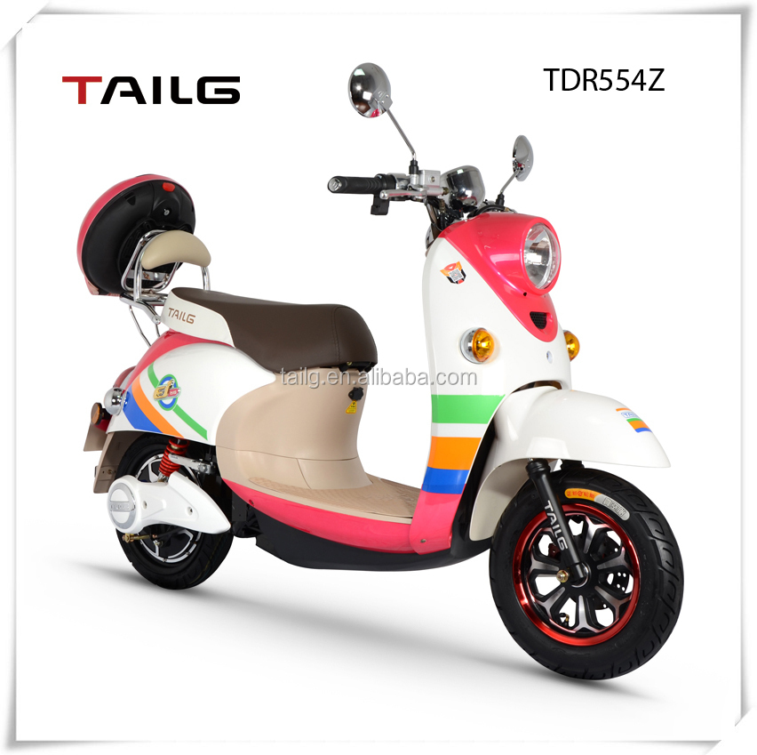 made in china dongguan tailg women cheap scooter electric moped motorcycle with pedals