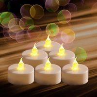 Good quality classical tea light flower candles