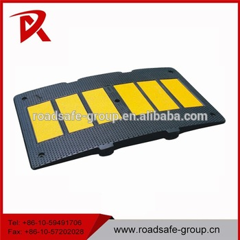 Reflective Road Safety Rubber Speed Breakers