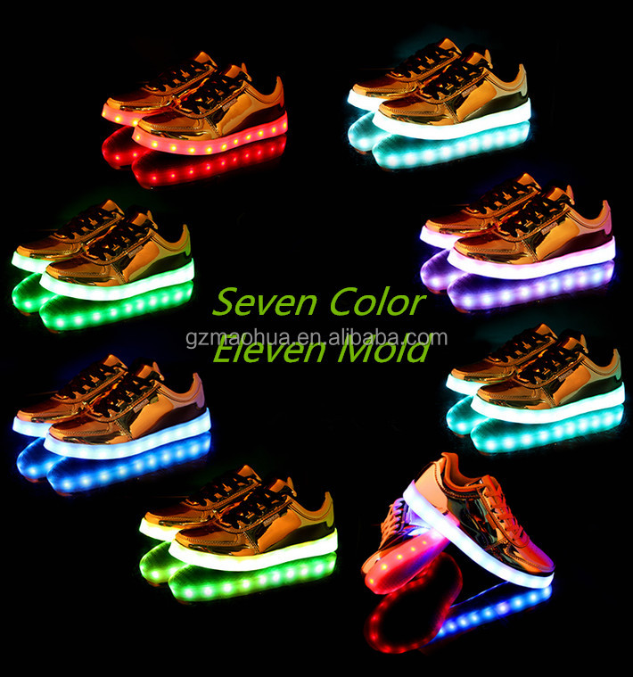 super bright girl shoes with led light shoes led light clip battery operated led shoes light