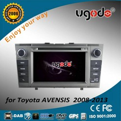 Factory android car radio 2 din for toyota avensis 2008-2013 MP3 player