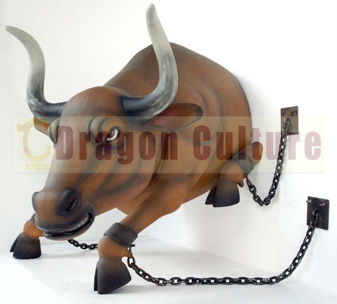 Indoor Exhibits Animated Animal Bull