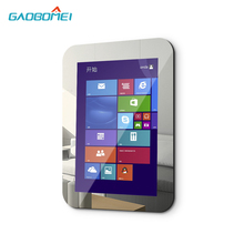 "21.5"" Bathroom Waterproof Mirror TV with Smart Kit, Gaobomei Electric Magic Mirror Touch Screen"