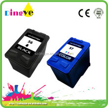 Guaranteed 100% Compatible ink cartridges 56 57 for hp printer color packing