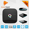 2016 NEW Q box Amlogic S905 android 5.1 lollipop HDMI2.0 4K tv box powerful than matricom g-box q
