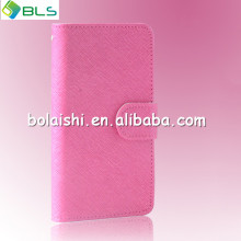 PU material wallet flip case for lg optimus g e975