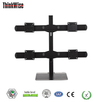 Vesa LCD Monitor stand widely used in CCTV Control room, security system