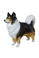 RESIN AUSTRALIAN SHEPHERD DOG 1