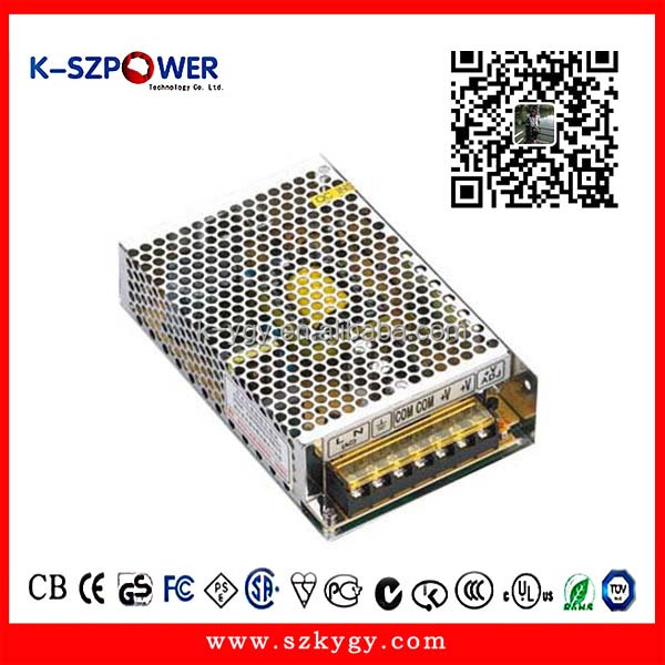 SC-180W 12V 13.8v class 2 switching power supply with batery backup for cctv security monitor