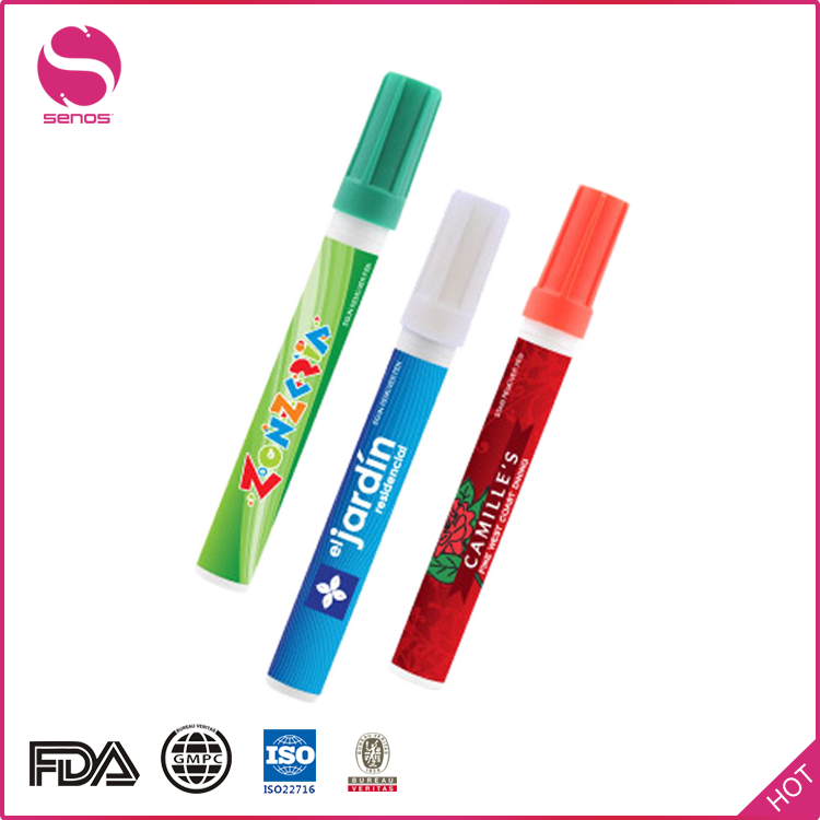 Senos Good Quality Blister Card Packing Freckle Stain Removal Pen With Full Color Printing