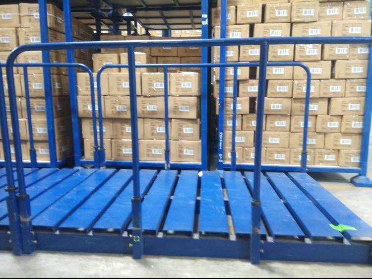Unique Steel Pallet Durable Stack Rack for Fabric Storage