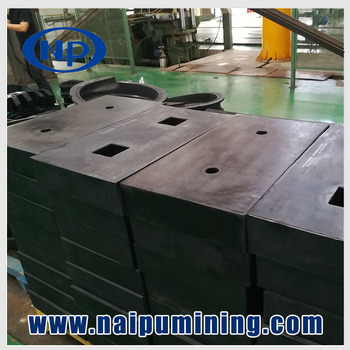 ISO standard grinding mill liners and segment