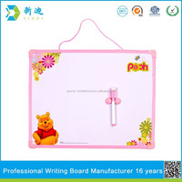 Lanxi xindi dry erase printed board for chidren for christmas 2016 gifts