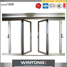 Suppy High Quality Aluminum Commercial Interior French Accordion Folding Doors
