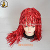 "18"" Long Straight Red PET Wig Different Colors on Sale"