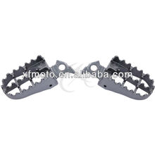 Footpegs Footrest For Yamaha YZ125 YZ250 1999-2005 2000 2001 2002 2003 2004
