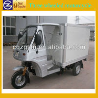 refrigerated cargo three wheeler/three wheel motorcycle/cargo tricycle