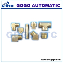 Ningbo factory High-ranking brass pipe fitting reducing adapter
