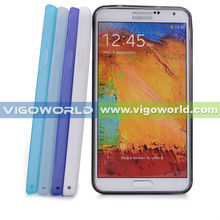 TPU Frost Clear Case (Smoke , white , Hot Pink , Dark Blue , Green , Light Blue , Purple) compatible with Samsung Galaxy Note 3