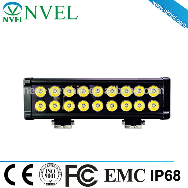 2015 hot selling 16 inch 90W PC panel Led Stage Light Bars with CE certificate
