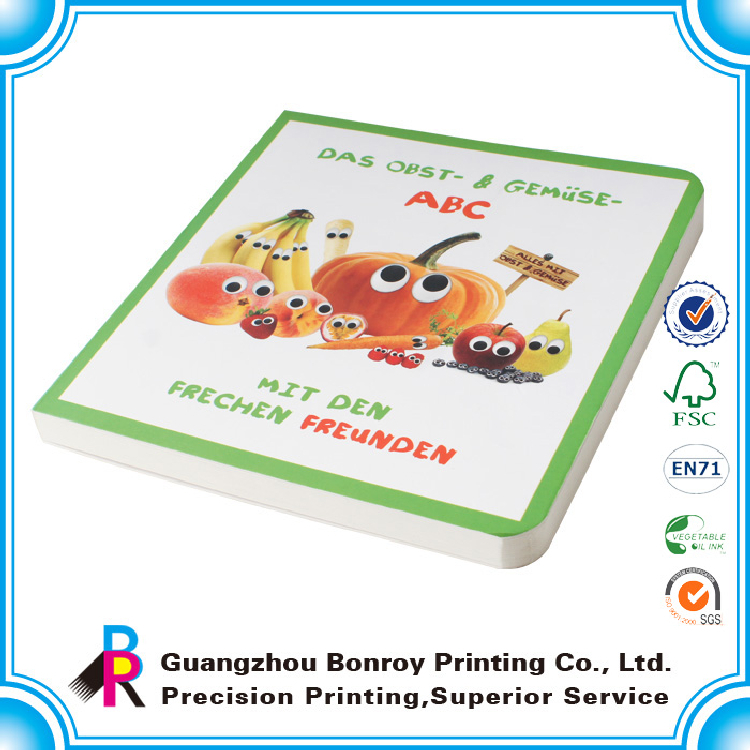 OEM full color printing lovely colorful professional children's picture books