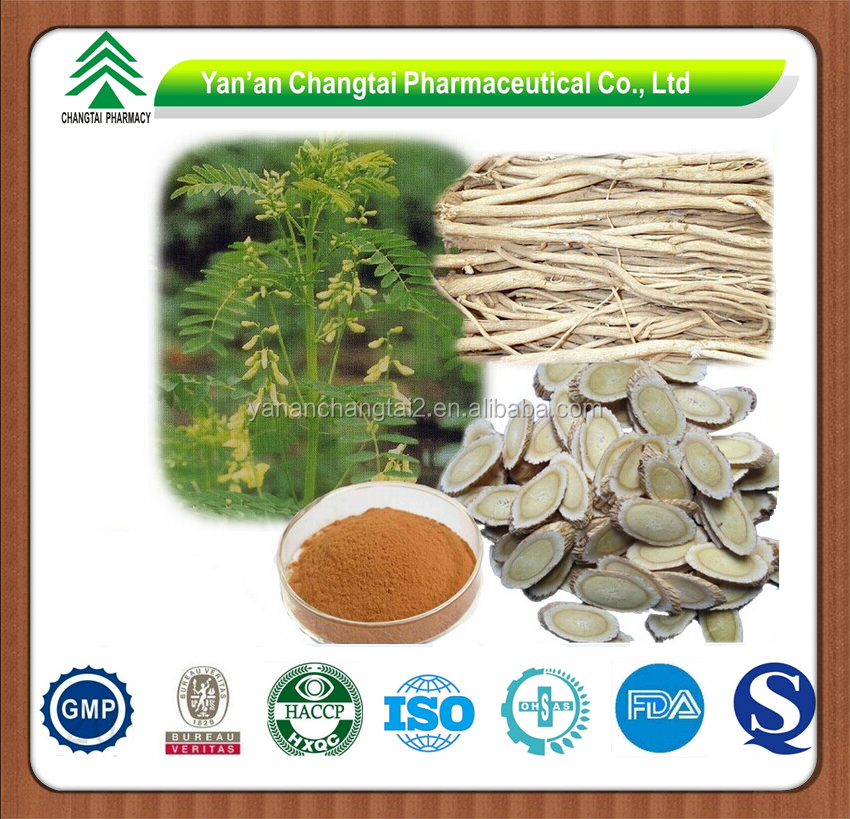 GMP factory supply Hot sale high quality Astragalus plant Extract