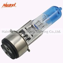 New Half Blue Motor Refit bulb with Quartz Glass BA20d base, used in AX100