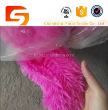 100% polyester faux fur fabric & pv plush fabric and pv fabric for baby blanket/qulit/bedding/garment lining