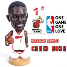 Resin customizable NBA basketball player personalized bobble head